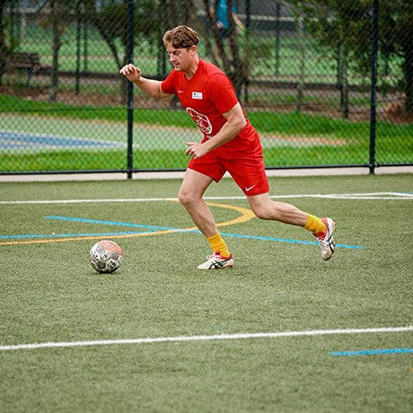 Soccer at Parklands Sports Centre